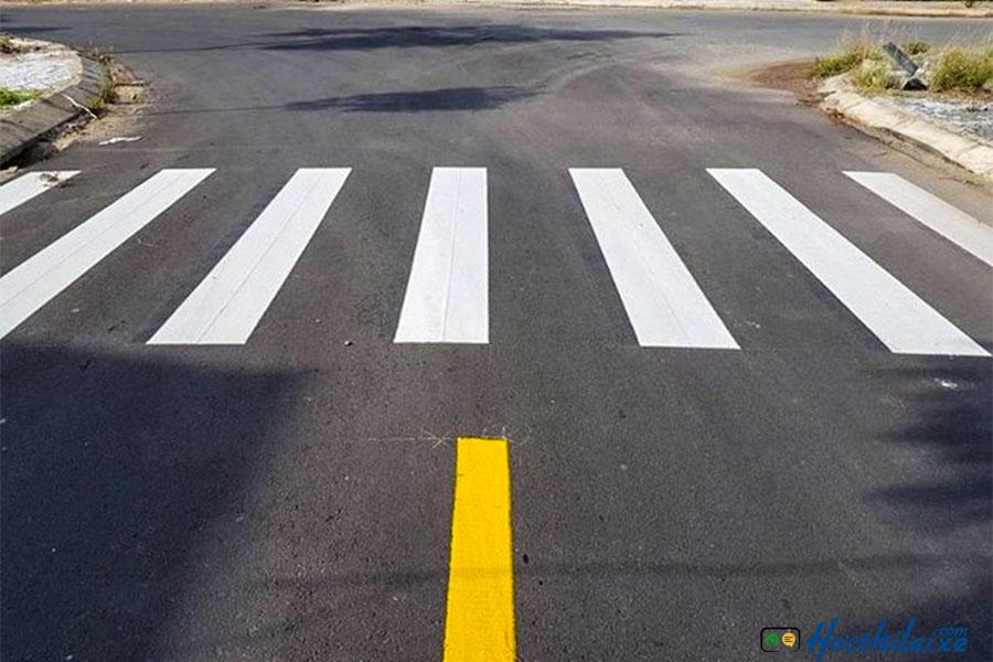 Làn, vạch kẻ đường - biển báo giao thông đường bộ