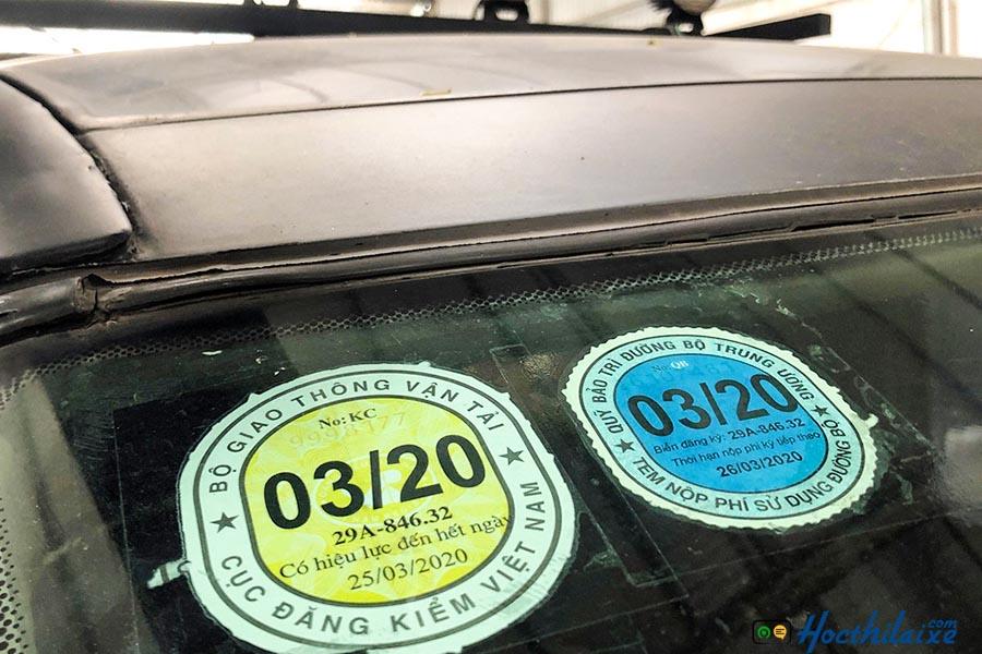 Chi phí đăng kiểm lái xe ô tô