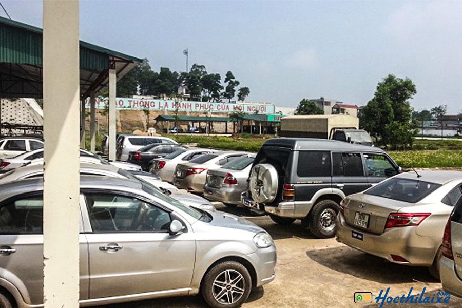 Xe tập lái tại Khánh Thành Đạt đời mới