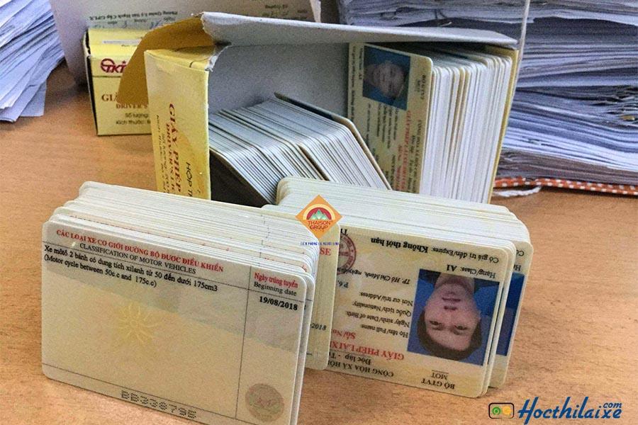 Giấy phép lái xe hợp lệ là giấy phép lái xe do sở GTVT cấp - gia hạn bằng lái xe