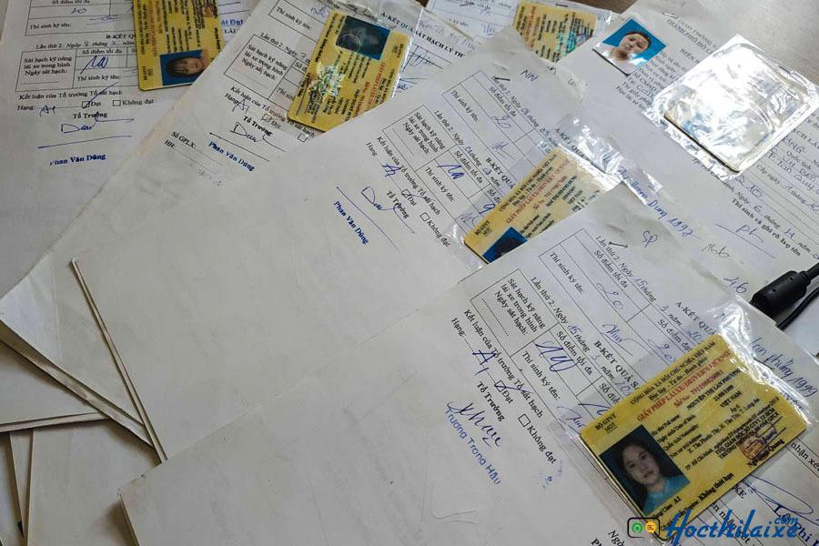 Thủ tục đăng ký dự thi bằng lái B1