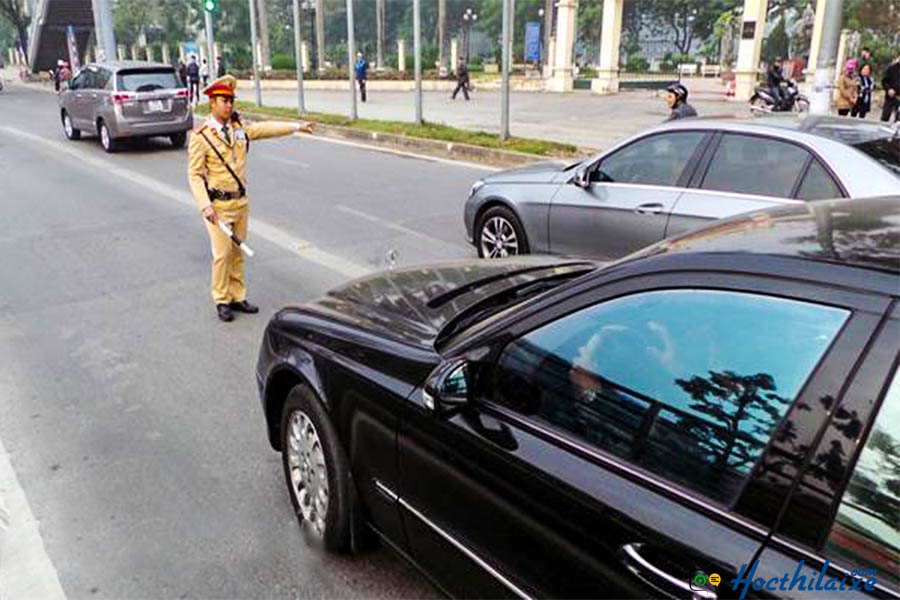 Phạt nóng đối với phương tiện giao thông