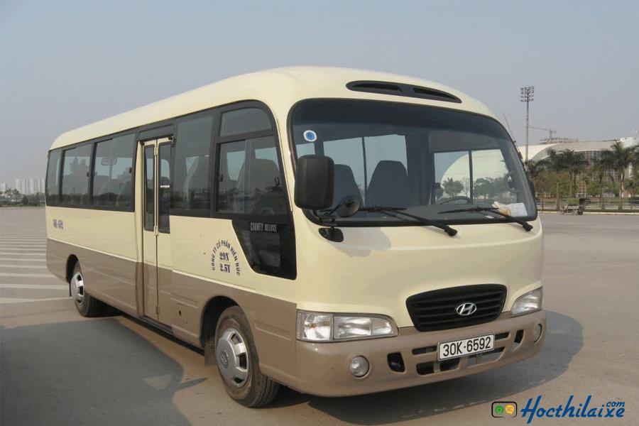 Mức học phí lái xe hạng D,E Hải Nam