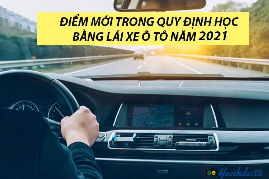 Điểm mới trong quy định học bằng lái xe B2