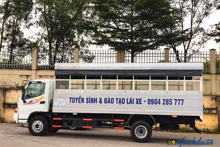 Khóa học lái xe ô tô tải hạng C Hải Vân