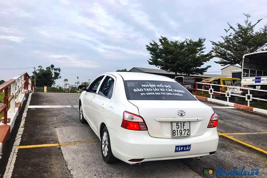 Thi sát hạch lái xe tại Hải Vân