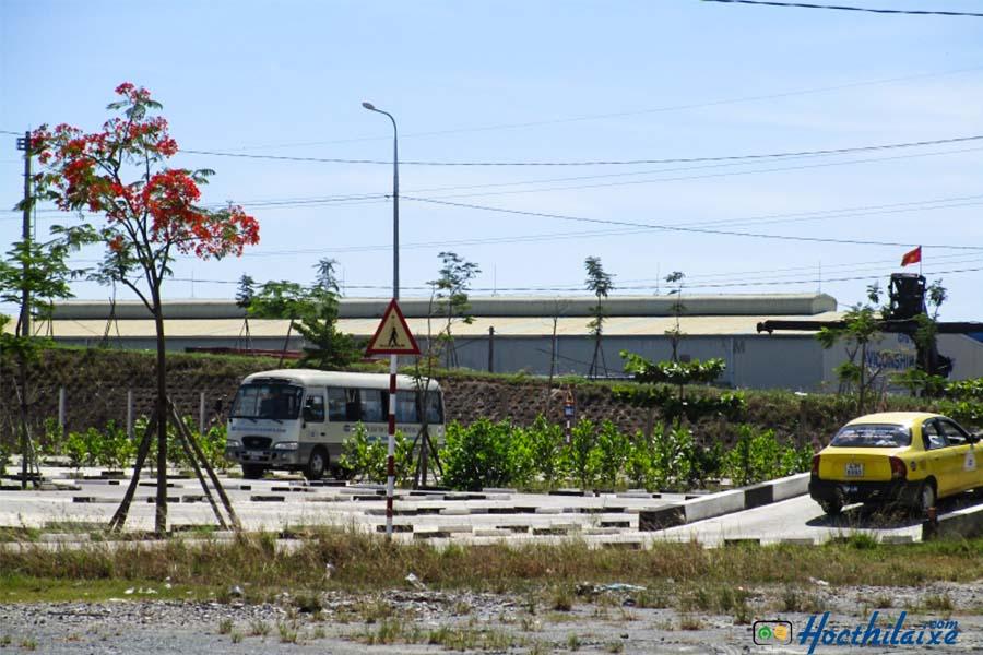 Sân tập lái đạt tiêu chuẩn ISO 9001 duy nhất tại Đà Nẵng