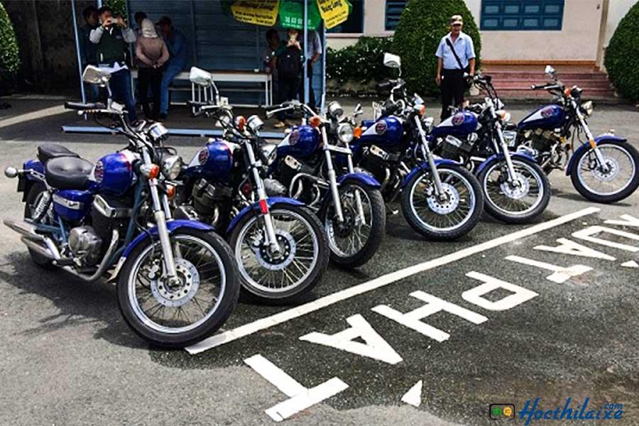 Khóa đào tạo lái xe mô tô hạng A2 tại STC