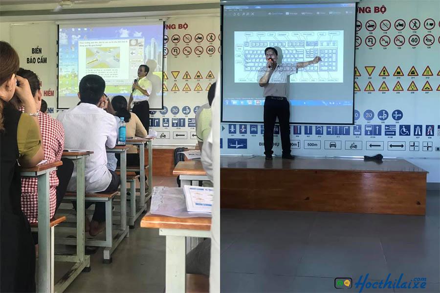 Học lý thuyết tại Thành Đạt
