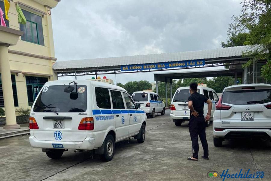 Học thực hành lái xe tại Thiên Phú