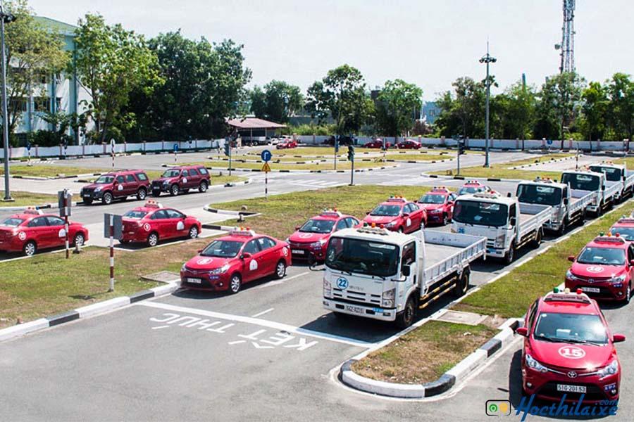 Sân tập lái Trung tâm Thành Công