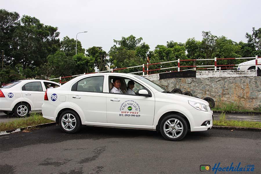 Sân tập lái Trường đào tạo lái xe ô tô Hiệp Phát