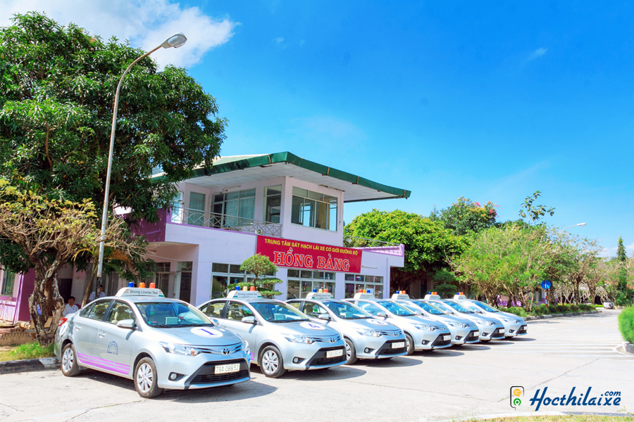 Trung tâm đào tạo và sát hạch lái xe Hồng Bàng