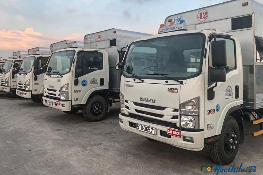 Khóa học bằng lái xe ô tô tải hạng C tại Toàn Diện