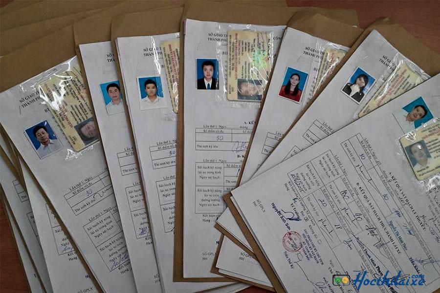 Điều kiện thủ tục khi đăng ký học thi lái xe tại Trường Vinh