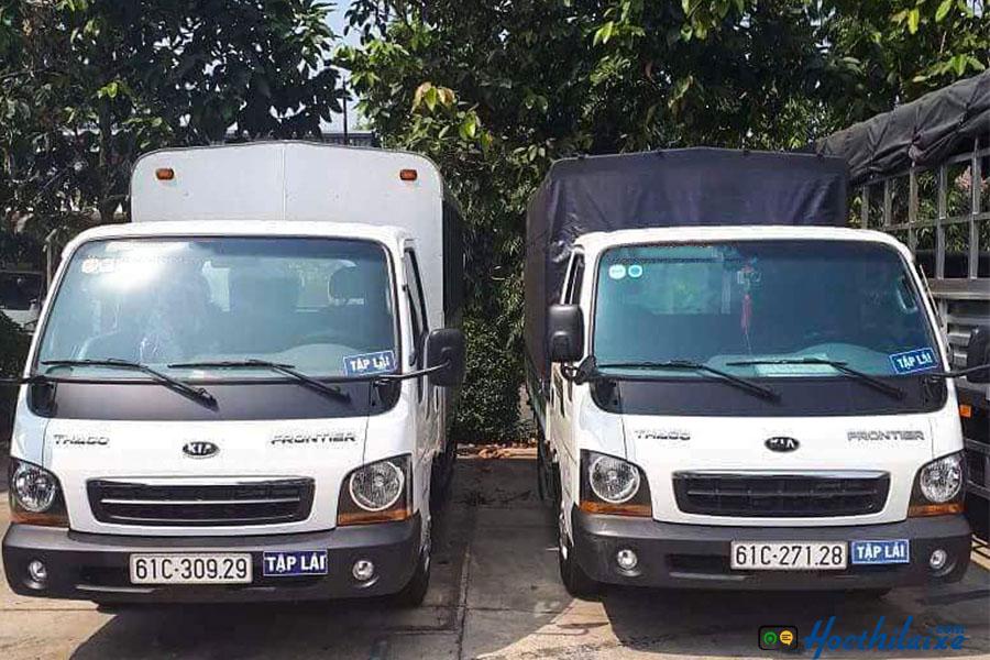 Khóa đào tạo bằng lái xe tải C TTDN Tư Thục Bình Dương