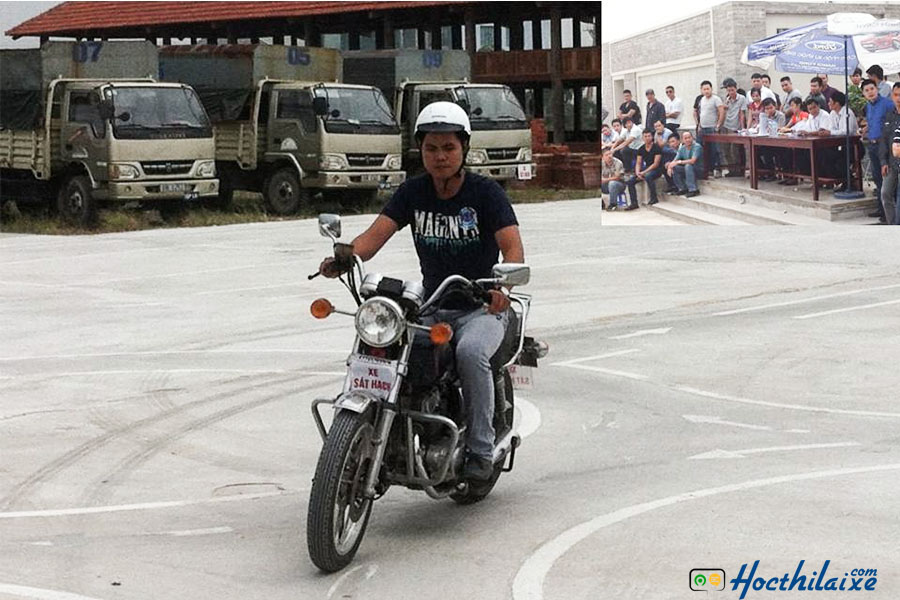 Khóa đào tạo lái xe mô tô A2 tại Hải Vân