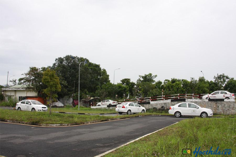 Sân tập lái Hiệp Phát nhiều địa hình luyện tập