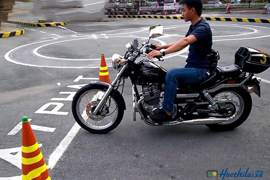 Khóa học lái xe mô tô A2 Khuê Mỹ