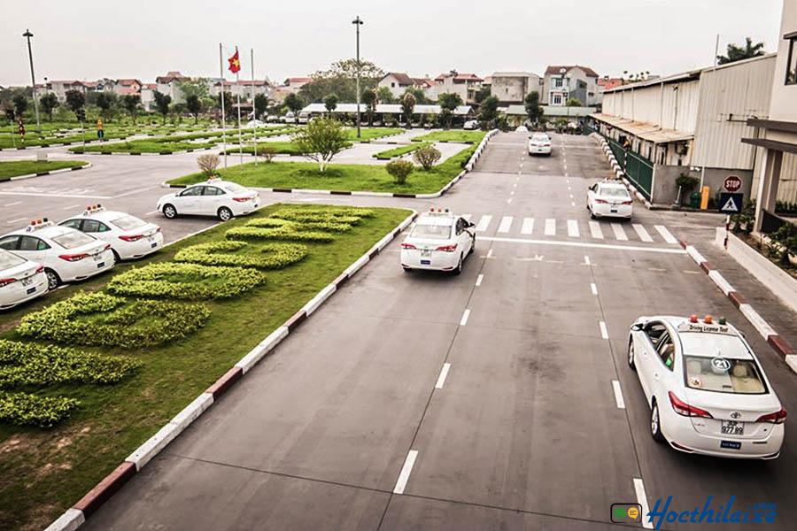 Lộtrình đào tạo học lái xeTrường Cao đẳng nghề KV Long Thành - Nhơn Trạch