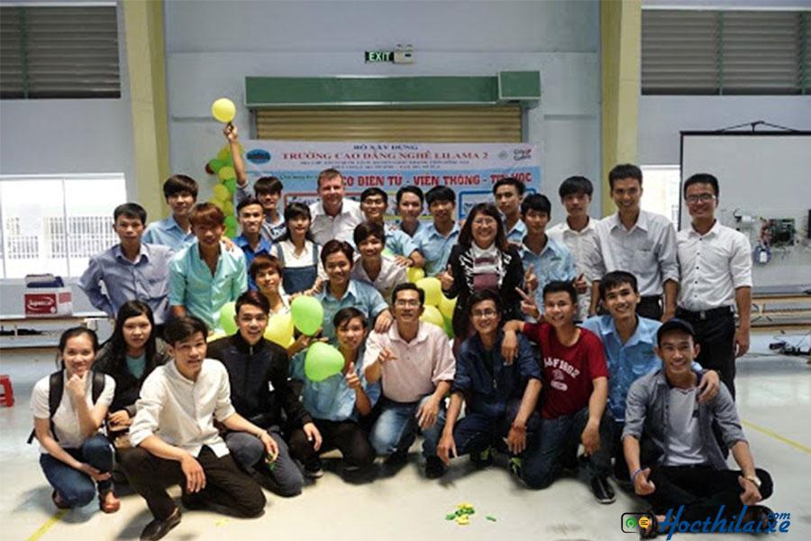 Đội ngũ giáo viên tại Trường cao đẳng nghề Lilama 2 nhiều kinh nghiệm