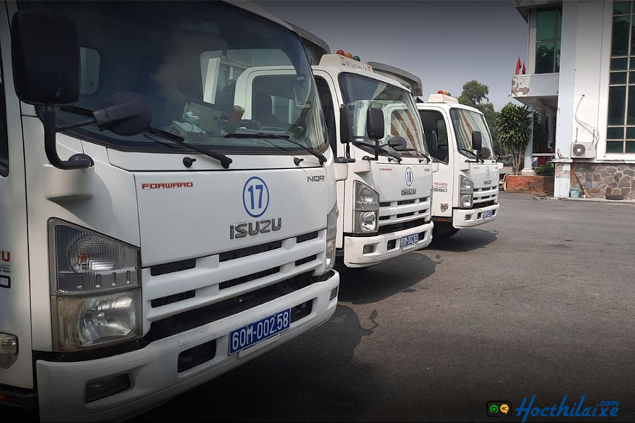 Khóa học lái xe tải hạng C tại Bửu Long
