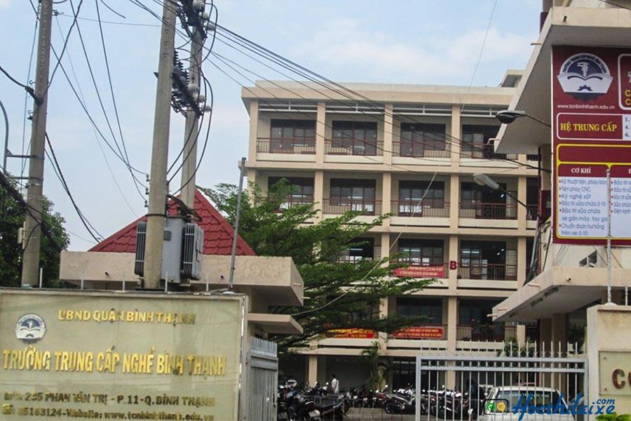 Trường trung cấp nghề quận Bình Thạnh