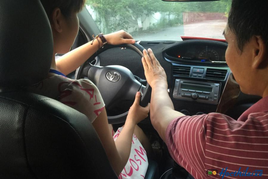 Học thực hành lái xe Đồng Tâm