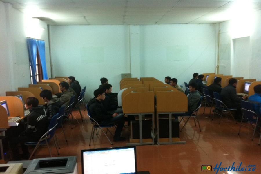 Phòng thực hành thi thử lý thuyết