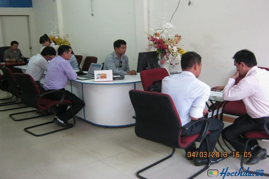 Phòng ghi danh Trường dạy nghề tư thục lái xe Thống Nhất