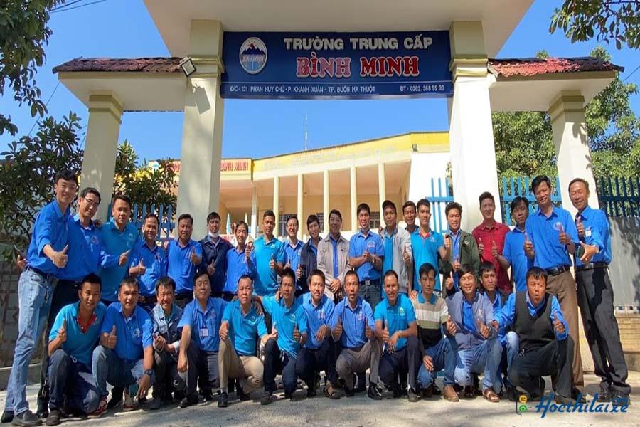 Giới thiệu Trường trung cấp Bình Minh