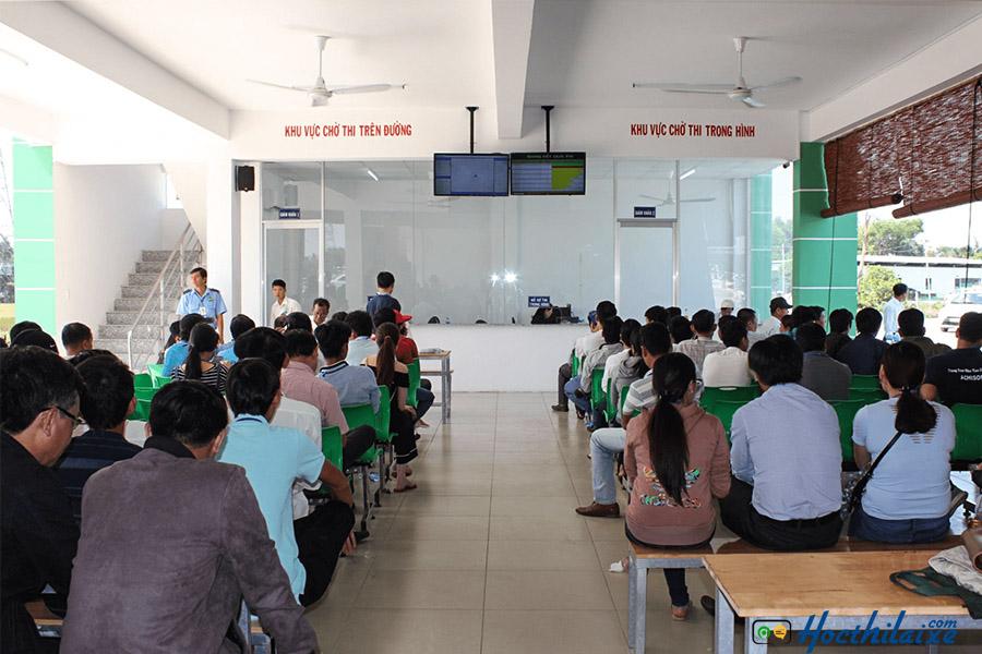 Đăng ký học và thi lái xe tại TCN GTVT Đồng Nai