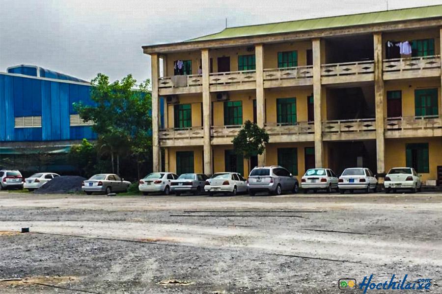 Học thực hành lái xe tại TCN GTVT Đồng Nai