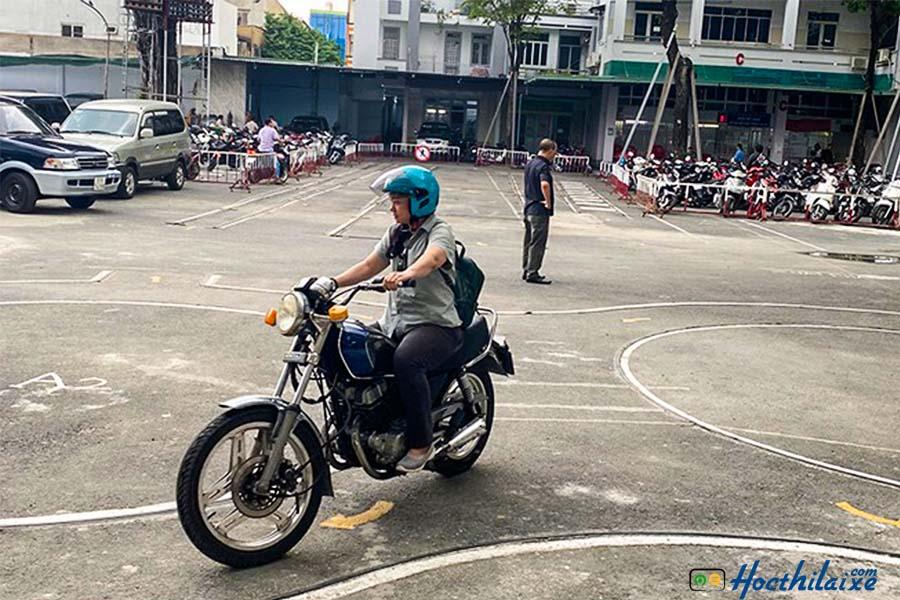 Khóa đào tạo lái xe hạng A2 tại GTCC Đà Nẵng