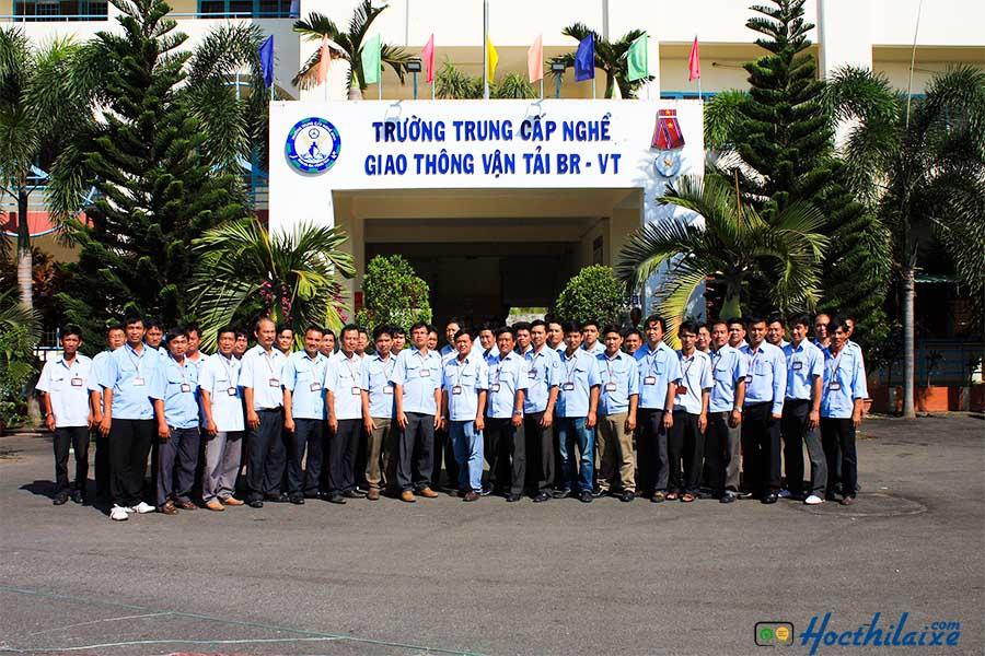 Giới thiệu Trường trung cấp nghề GTVT Bà Rịa - Vũng Tàu