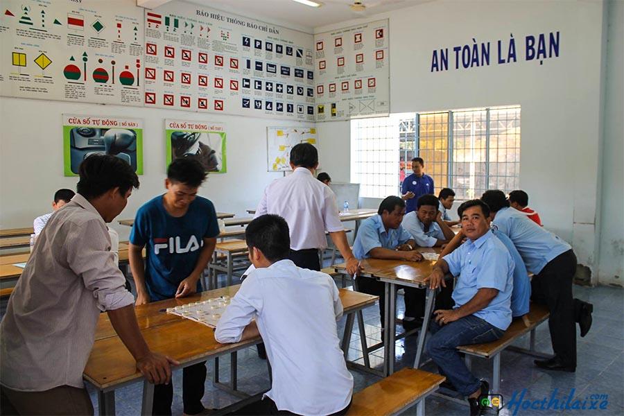 Lộ trình học lái xe tại Trường Trung cấp nghề GTVT Bà Rịa - Vũng Tàu