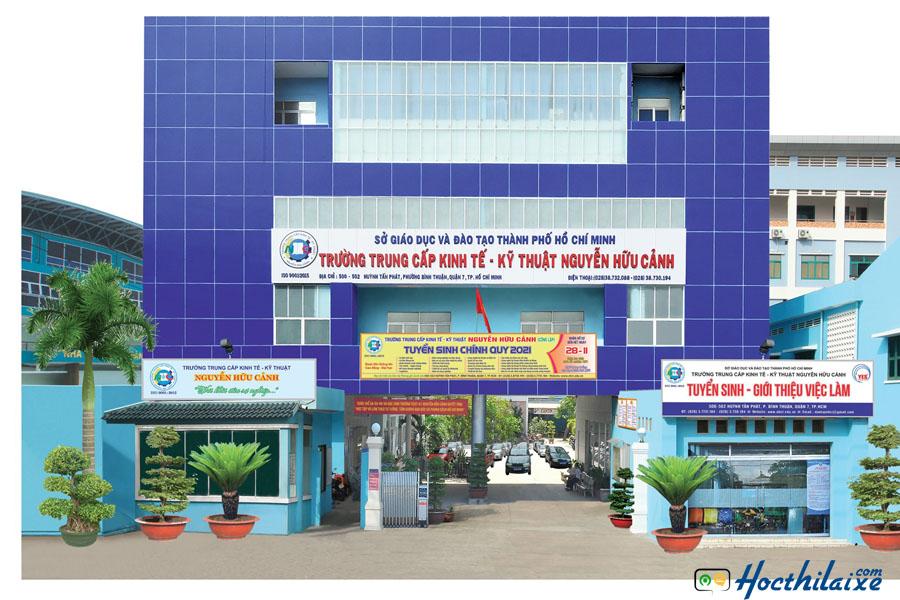 Trường trung cấp kinh tế kỹ thuật Nguyễn Hữu Cảnh