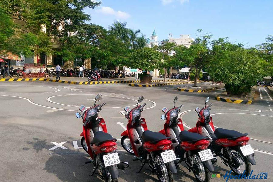 Thủ tục đăng ký học lái xe tại Trường Nguyễn Hữu Cảnh