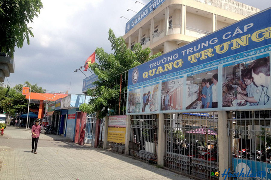 Trường trung cấp nghề Quang Trung