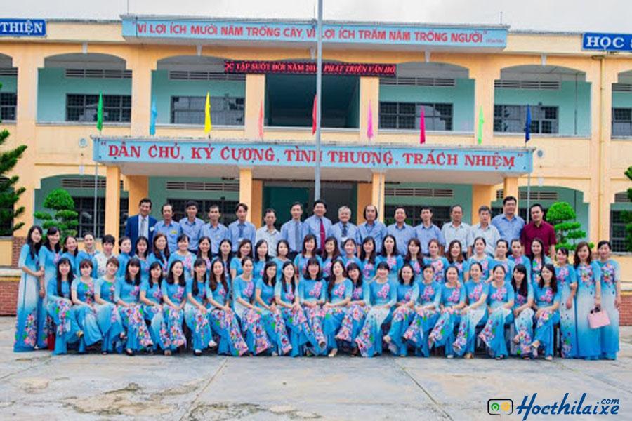 Đội ngũ giảng viên Trường trung cấp nghề Quang Trung