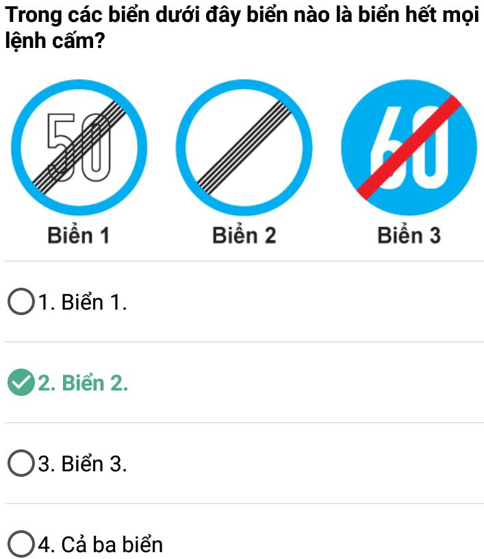 Câu 371 - Bộ 600 câu hỏi ôn thi giấy phép lái xe