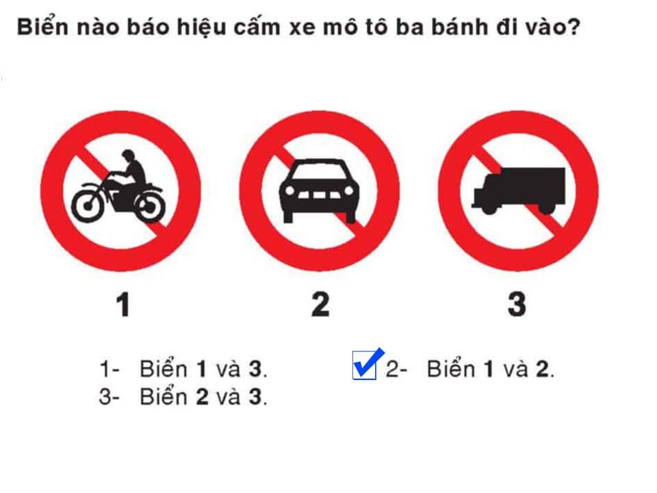 Câu 334 - Bộ 600 câu hỏi ôn thi giấy phép lái xe