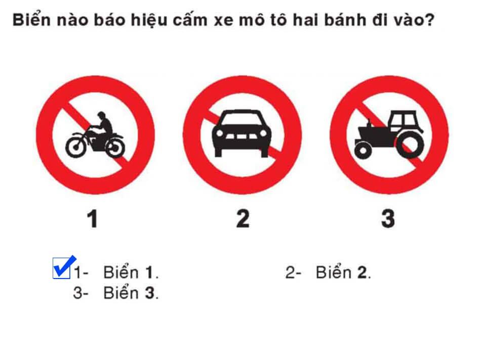Câu 336 - Bộ 600 câu hỏi ôn thi giấy phép lái xe