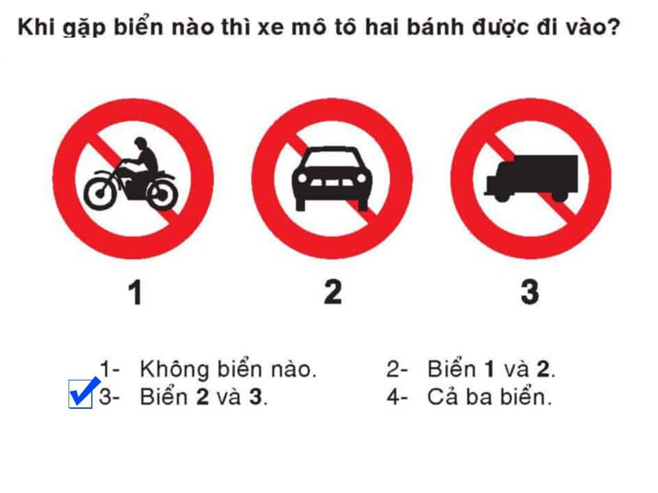 Câu 337 - Bộ 600 câu hỏi ôn thi giấy phép lái xe