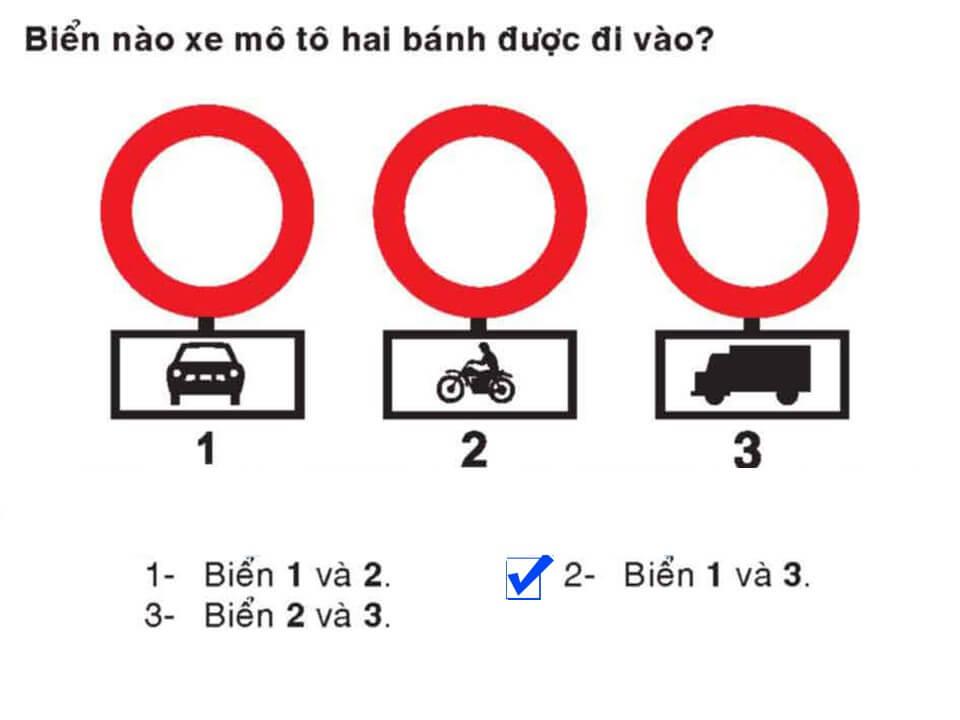 Câu 338 - Bộ 600 câu hỏi ôn thi giấy phép lái xe