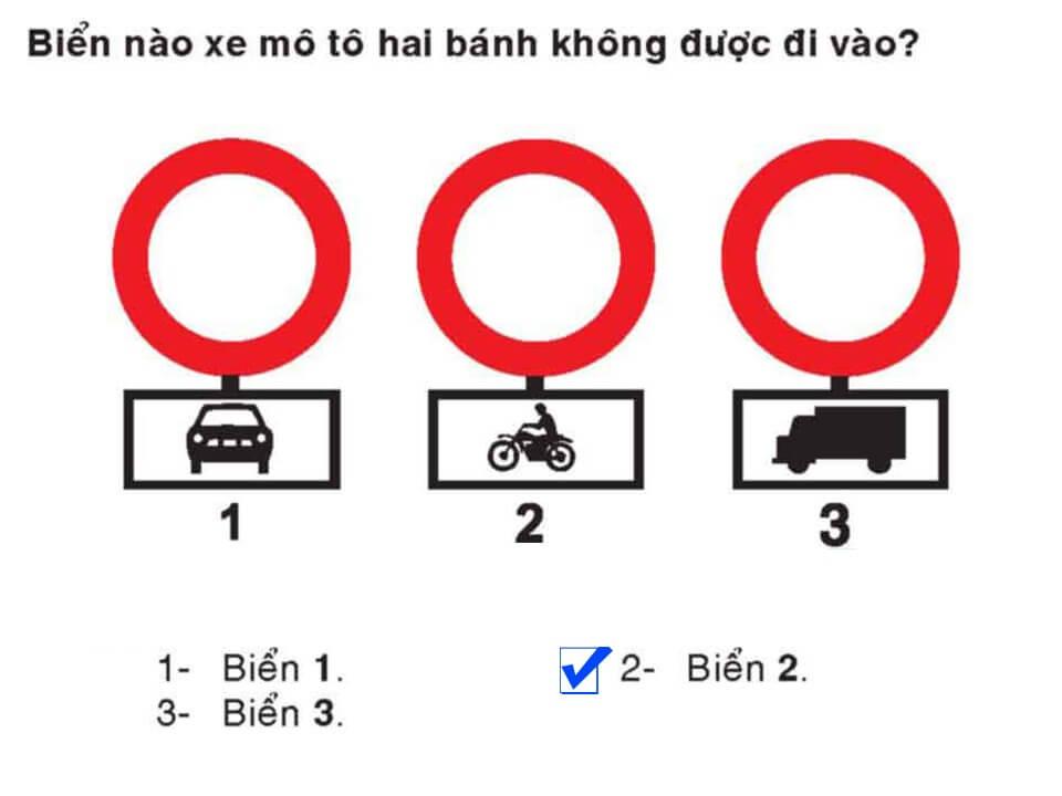 Câu 339 - Bộ 600 câu hỏi ôn thi giấy phép lái xe