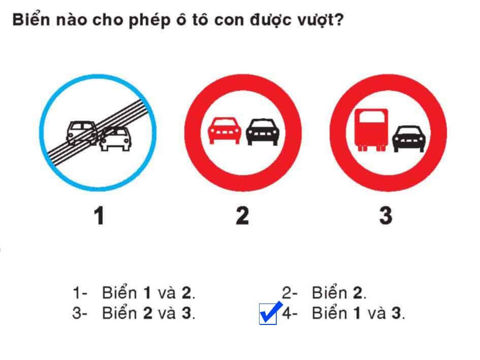 Câu 341 - Bộ 600 câu hỏi ôn thi giấy phép lái xe
