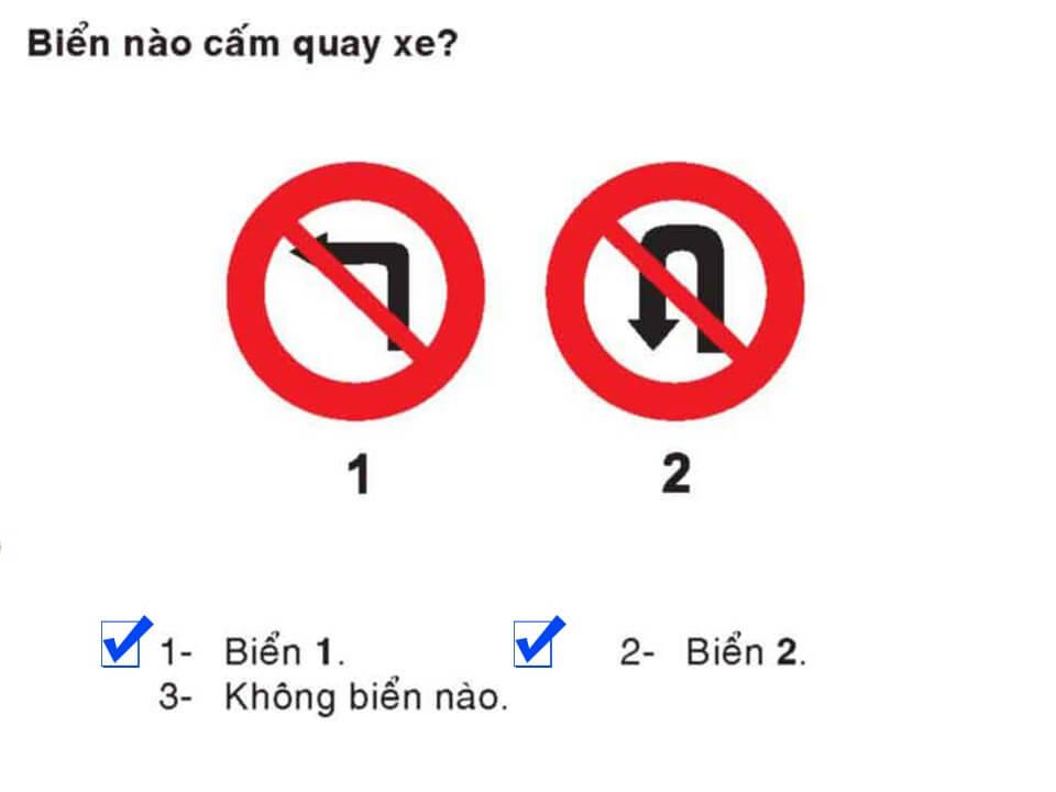 Câu 345 - Bộ 600 câu hỏi ôn thi giấy phép lái xe