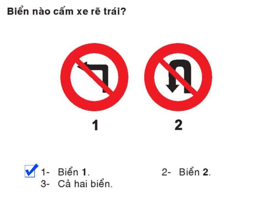 Câu 346 - Bộ 600 câu hỏi ôn thi giấy phép lái xe