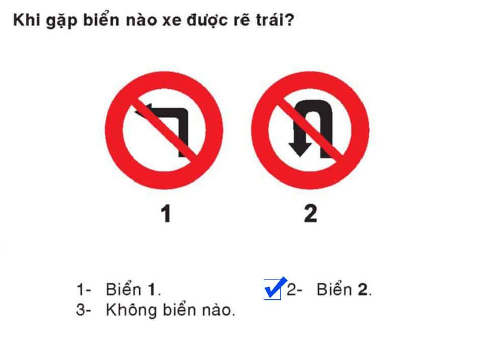 Câu 347 - Bộ 600 câu hỏi ôn thi giấy phép lái xe